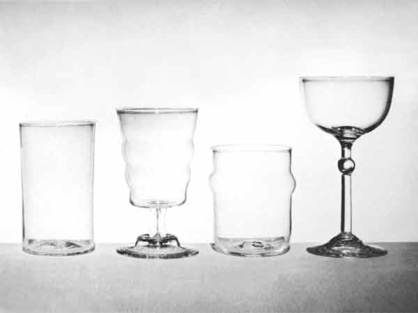 300 Years of Drinking Glasses