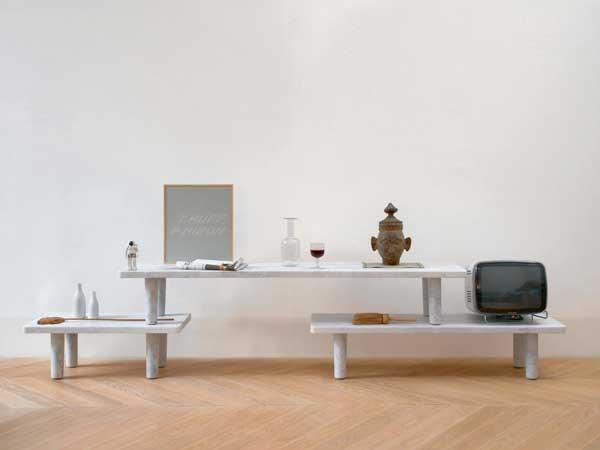 Carrara Tables